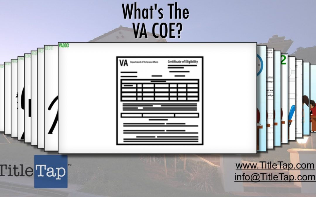What Is A Certificate of Eligibility, or COE?