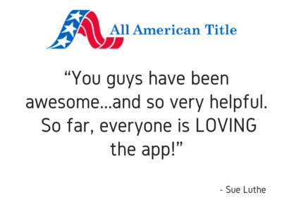 Everyone is LOVING the app!