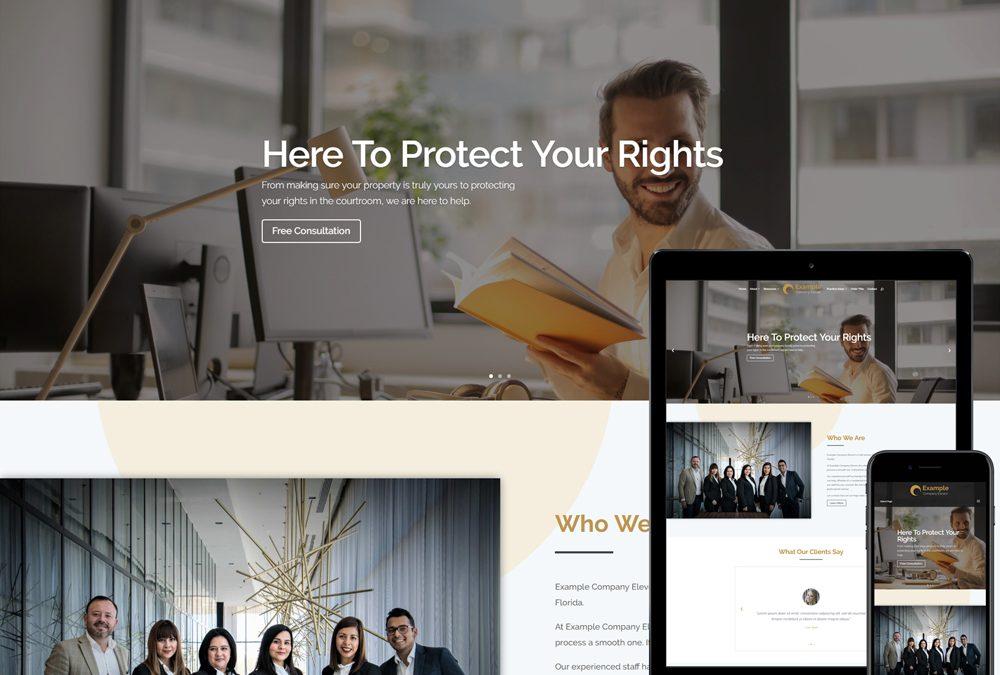 The 7 Best Website Designs For Attorneys Marketing And Websites For Attorneys Title Agents