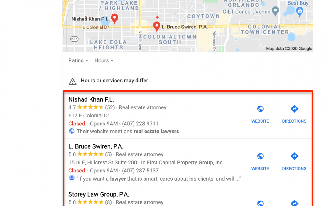 Why is it important for your law firm to rank on the first page of Google