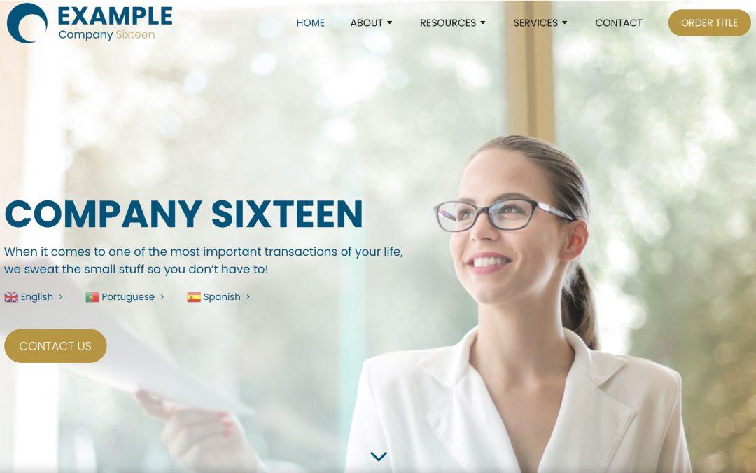 4 New Website Designs Released!