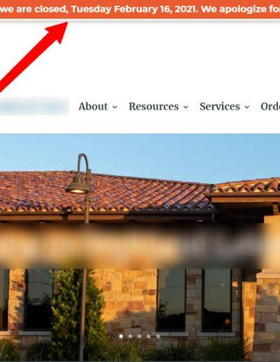 Website Banner or Pop-up 2