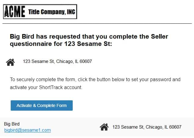 Email notification screenshot 3