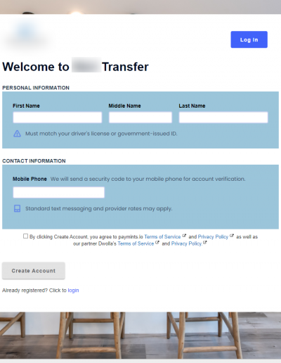 Paymints.io Screenshot